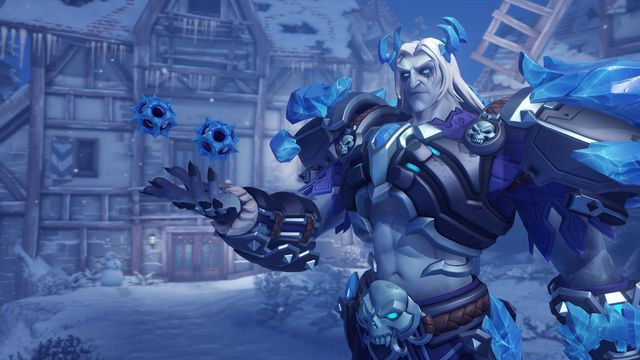 Sigma in a Rime skin from Overwatch