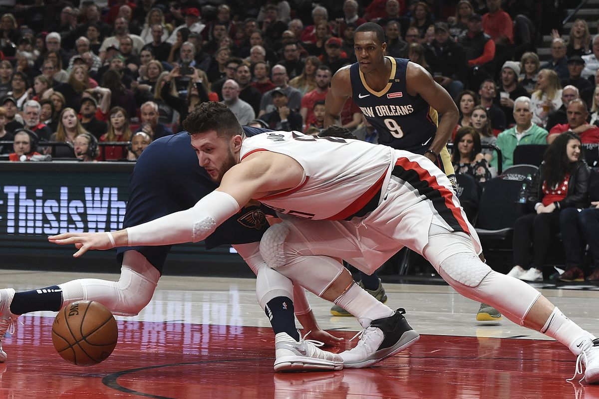 New Orleans Pelicans v Portland Trail Blazers - Game One