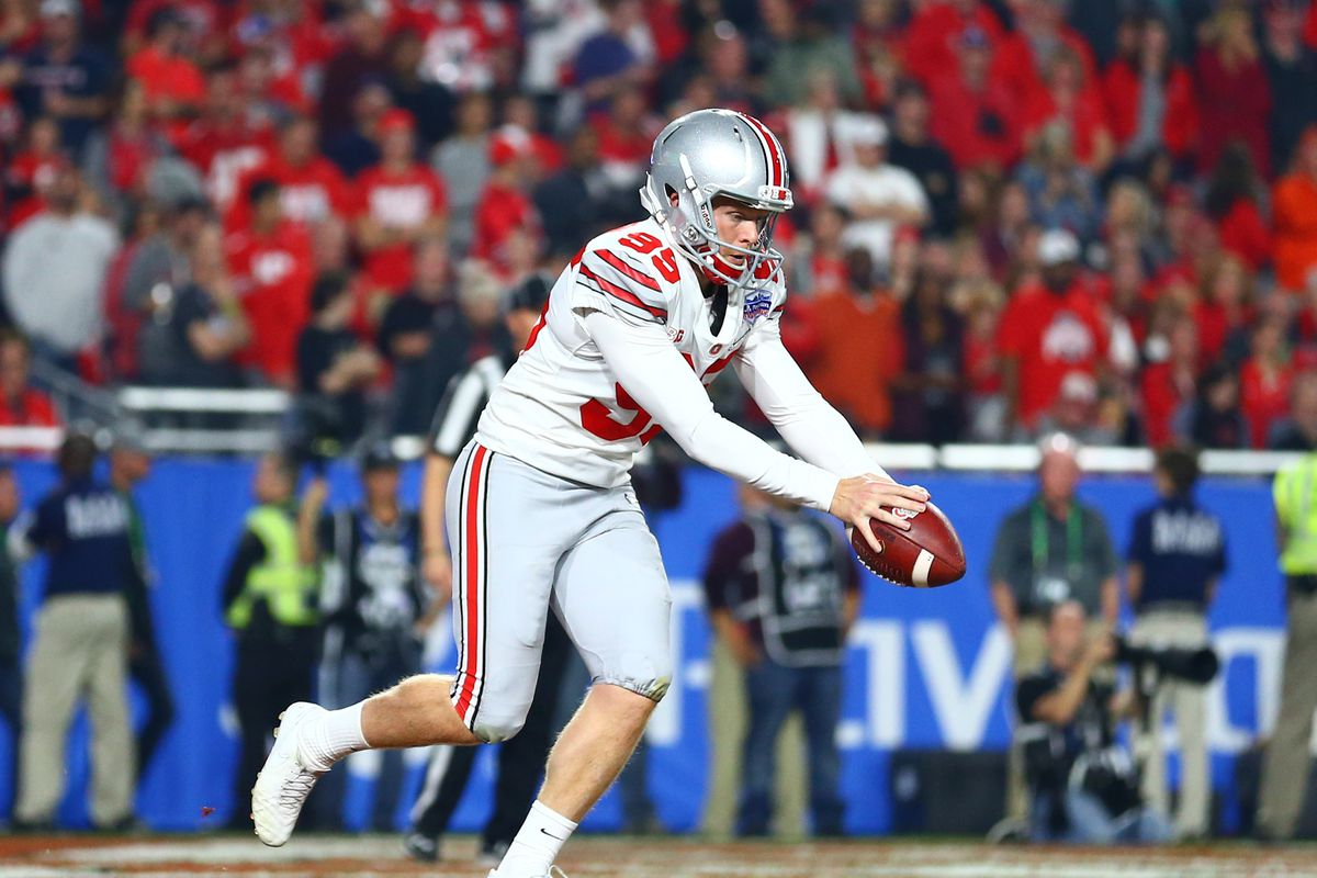 best sneakers c6f36 335bf Former Ohio State punter Cameron Johnston has incredible 81 ...