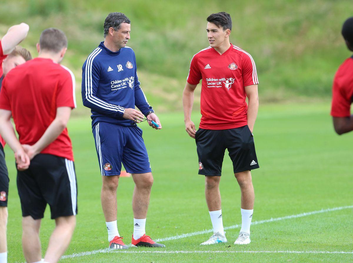 Sunderland Pre-Season Training Session