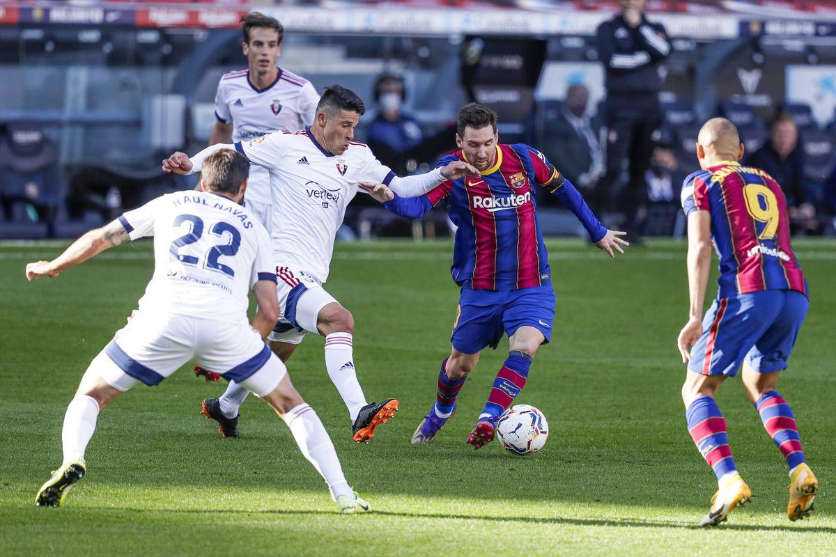 FC Barcelona v Osasuna - La Liga Santander