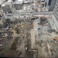 City Creek construction December 12, 2008.