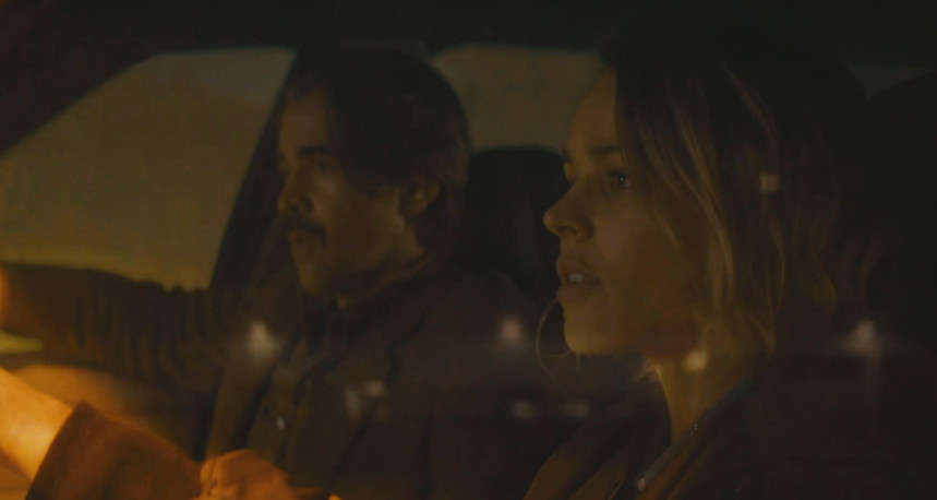 Ray and Ani on True Detective.