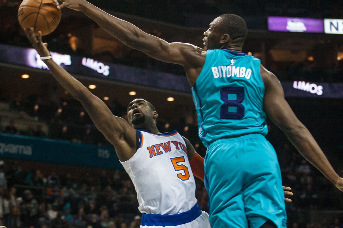 Resultado de imagen para Bismack Biyombo, Charlotte Hornets