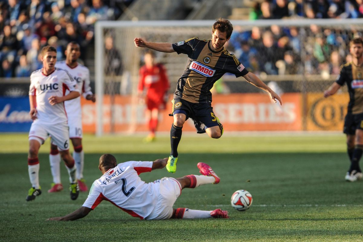 Nogueira was literally everywhere on Saturday helping the Union hold 72% possession in the 1st half.