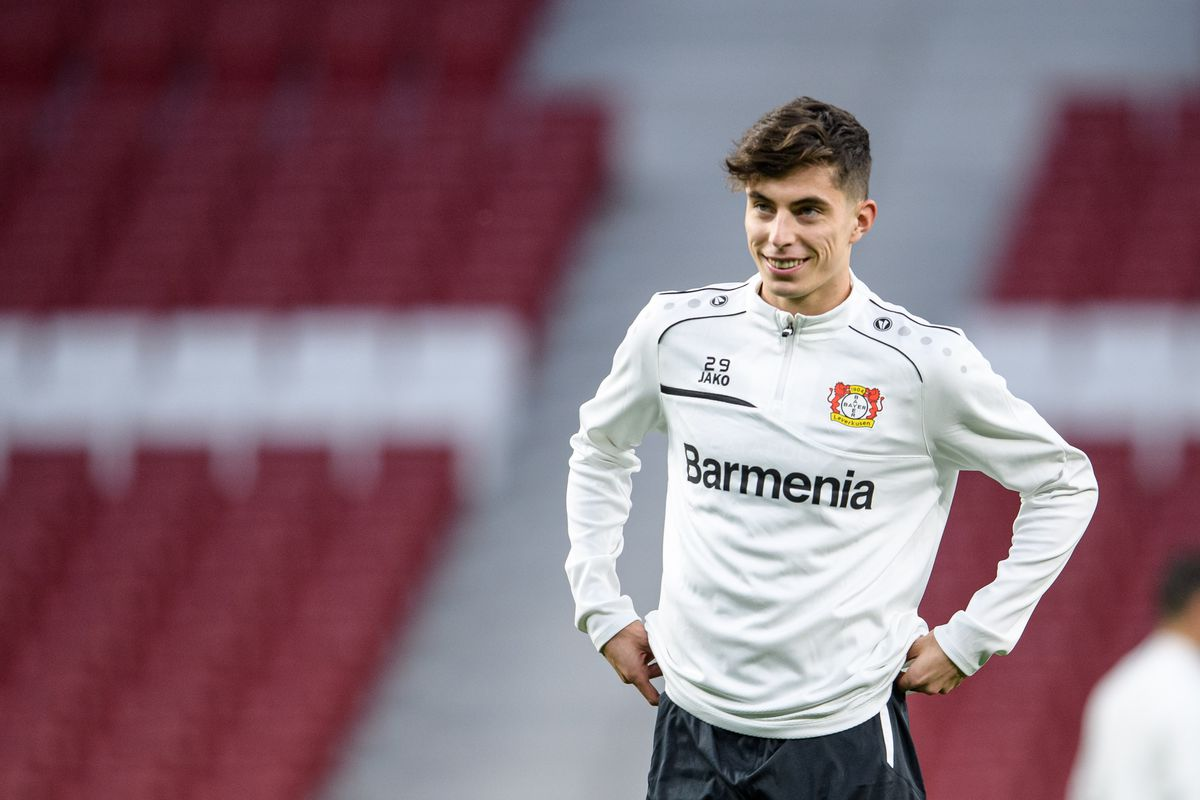 Bayer Leverkusen Training And Press Conference