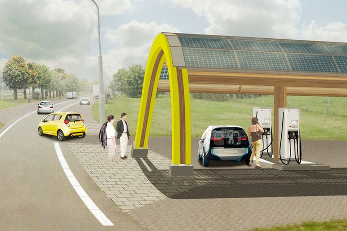 Every Dutch Citizen Will Live Within 31 Miles Of An Electric Vehicle Charging Station By 2015 The Verge,Best Artificial Christmas Tree 2020 Uk