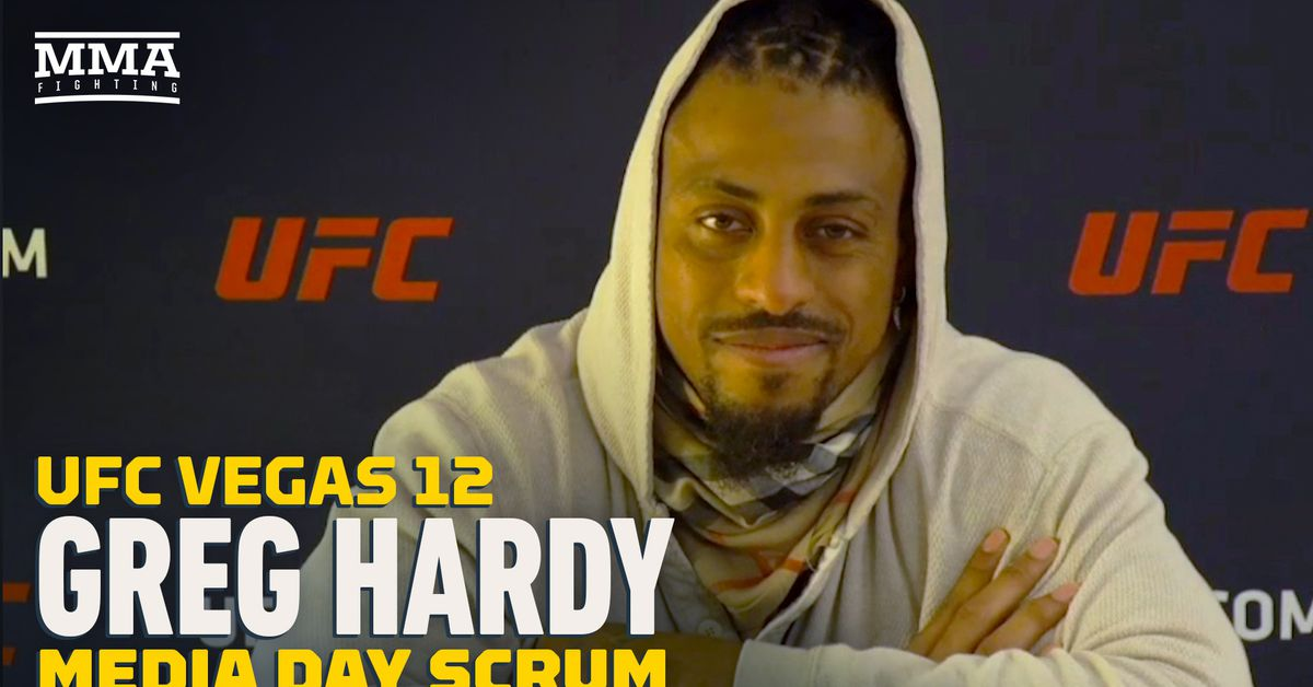 UFC Vegas 12 video: Greg Hardy: Ex-UFC champ Rashad Evans told me I have 'it'