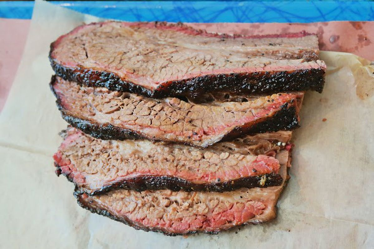 Brisket from Franklin Barbecue