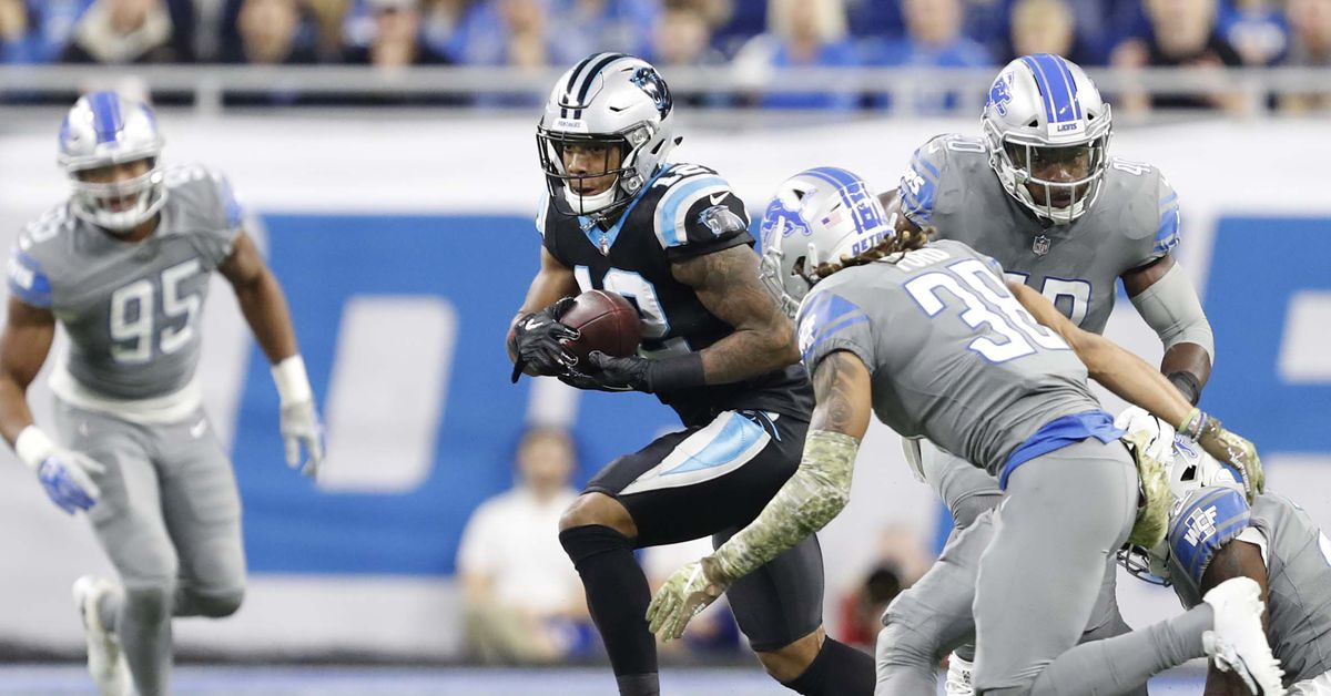 Lions Week 11 snap counts: Detroit shakes up secondary vs. Panthers
