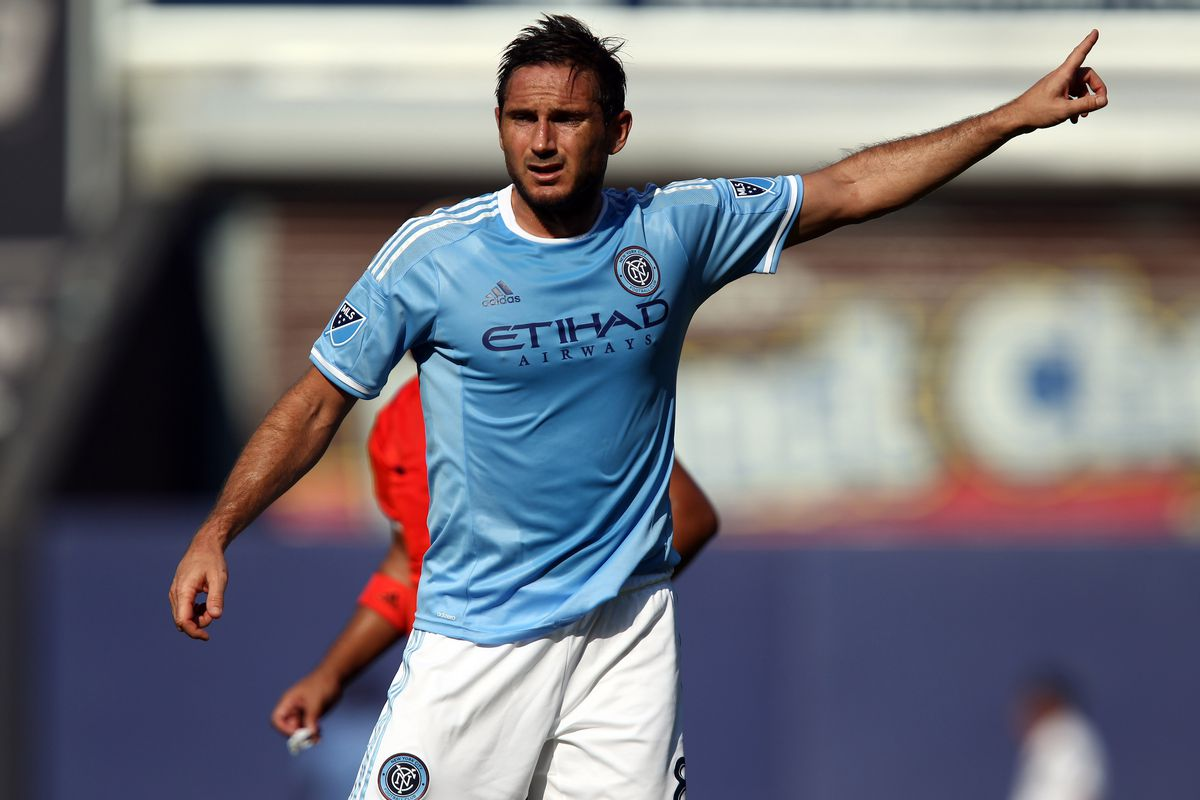 Would NYCFC be in this spot if Lampard had played more than 167 minutes thus far this season?