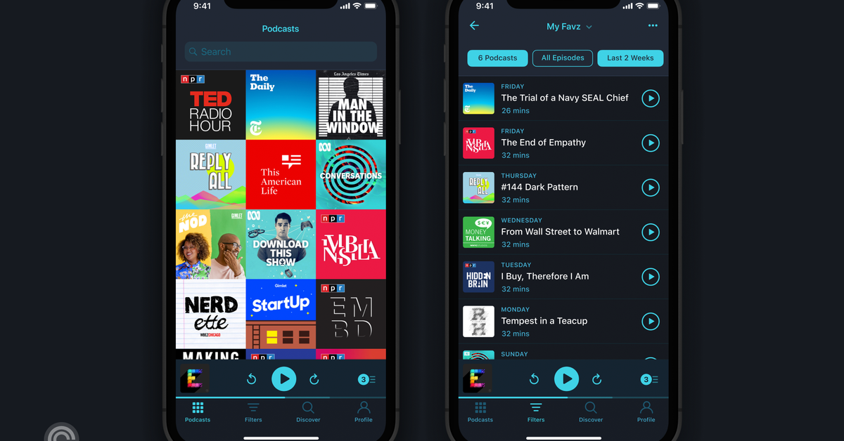 Public media found its answer to Spotify in Pocket Casts