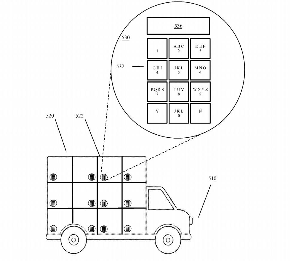 google self driving truck
