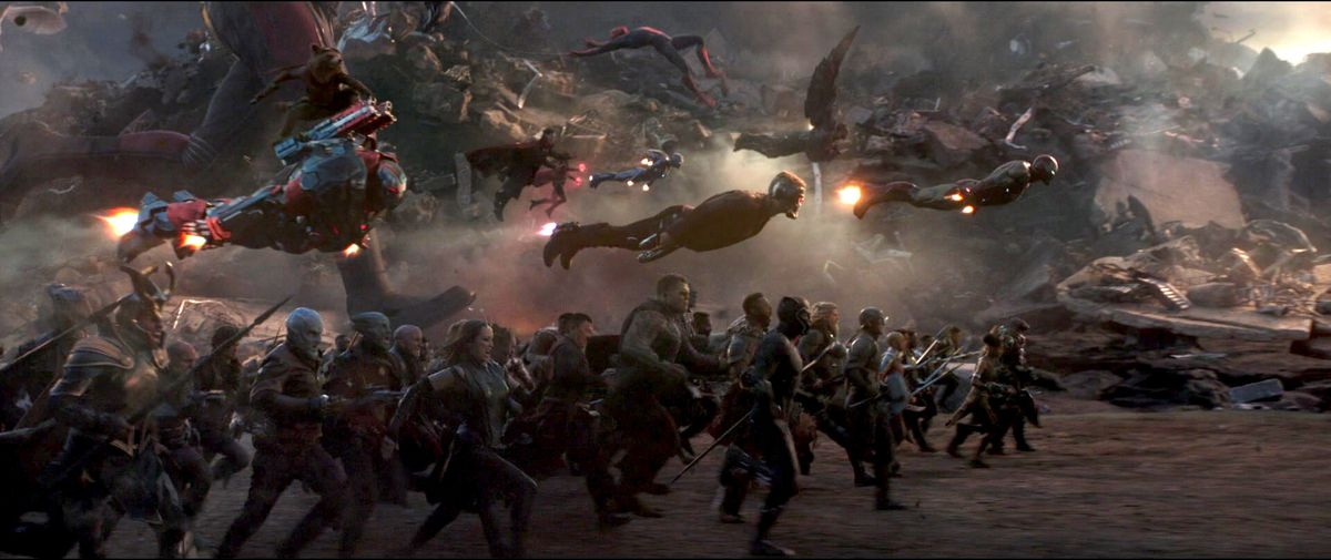 Avengers: Endgame heroes assemble for Thanos fight