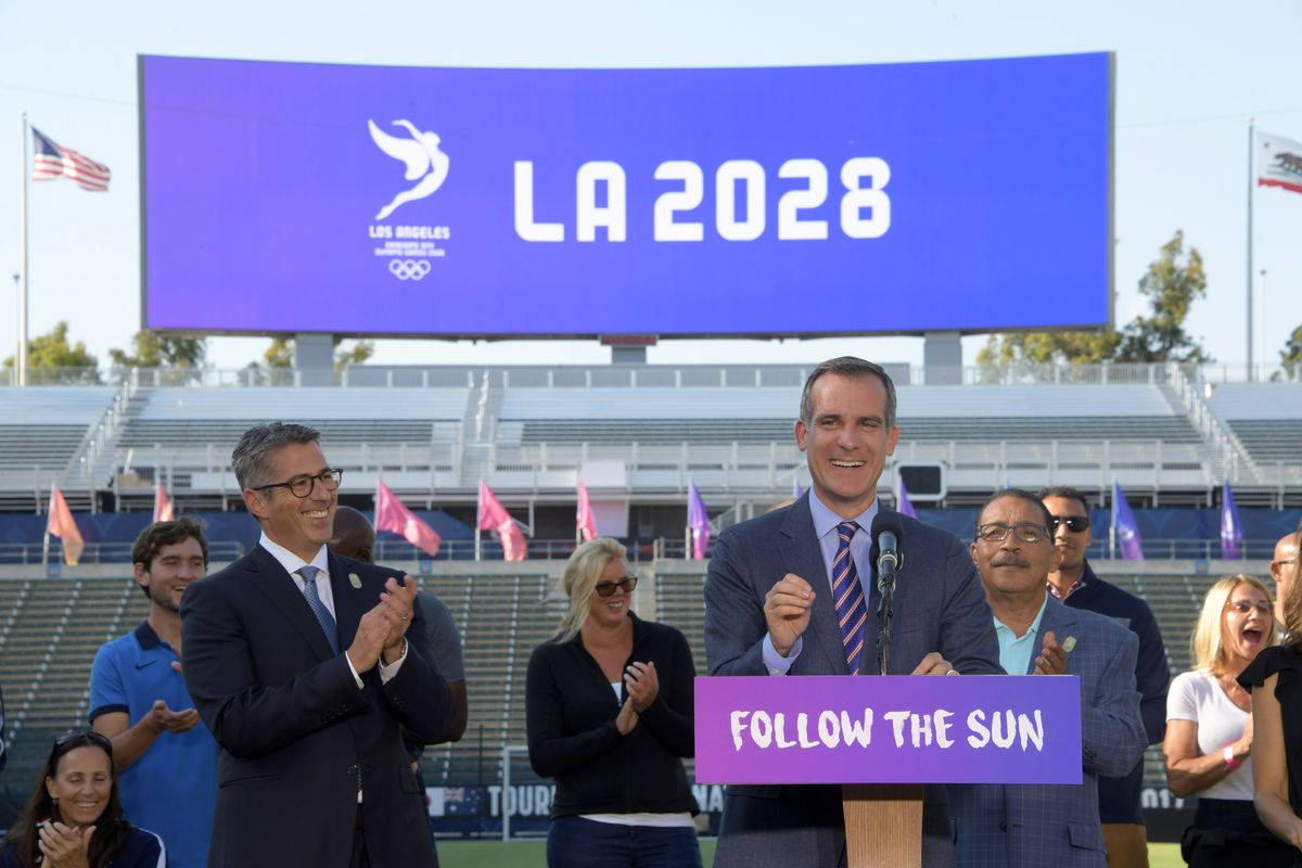 Olympics: Los Angeles 2028 Olympic and Paralympic Games Bid Announcement