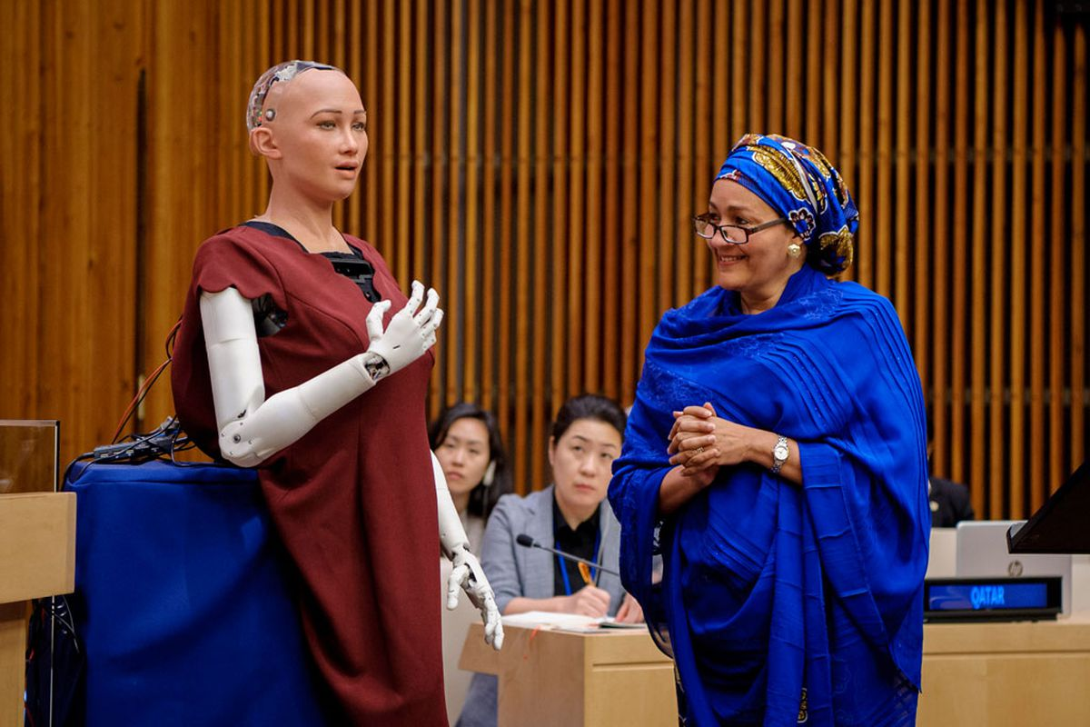 A Human-Like Robot Just Received Citizenship In Saudi Arabia