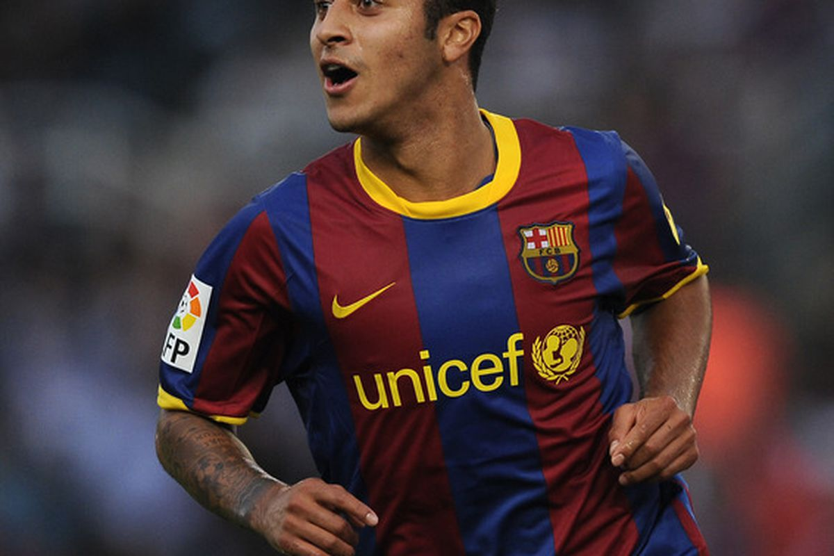 Thiago managed to get his second goal of the season, but it was not enough as Barca lost 2-1
