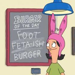 The Foot Feta-ish Burger. Episode 2, Crawl Space.