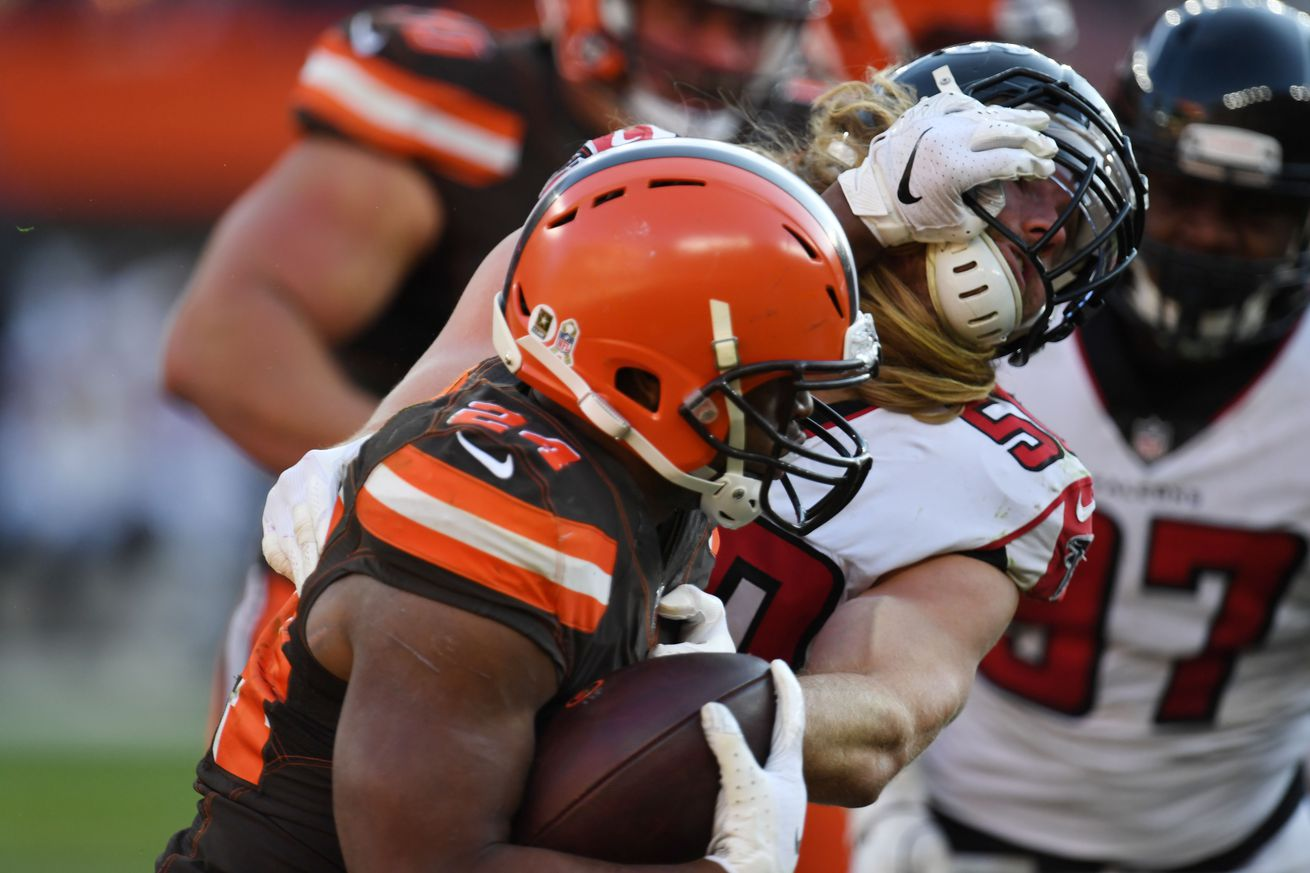Browns' offensive snap counts, stats, and PFF notes: Week 10