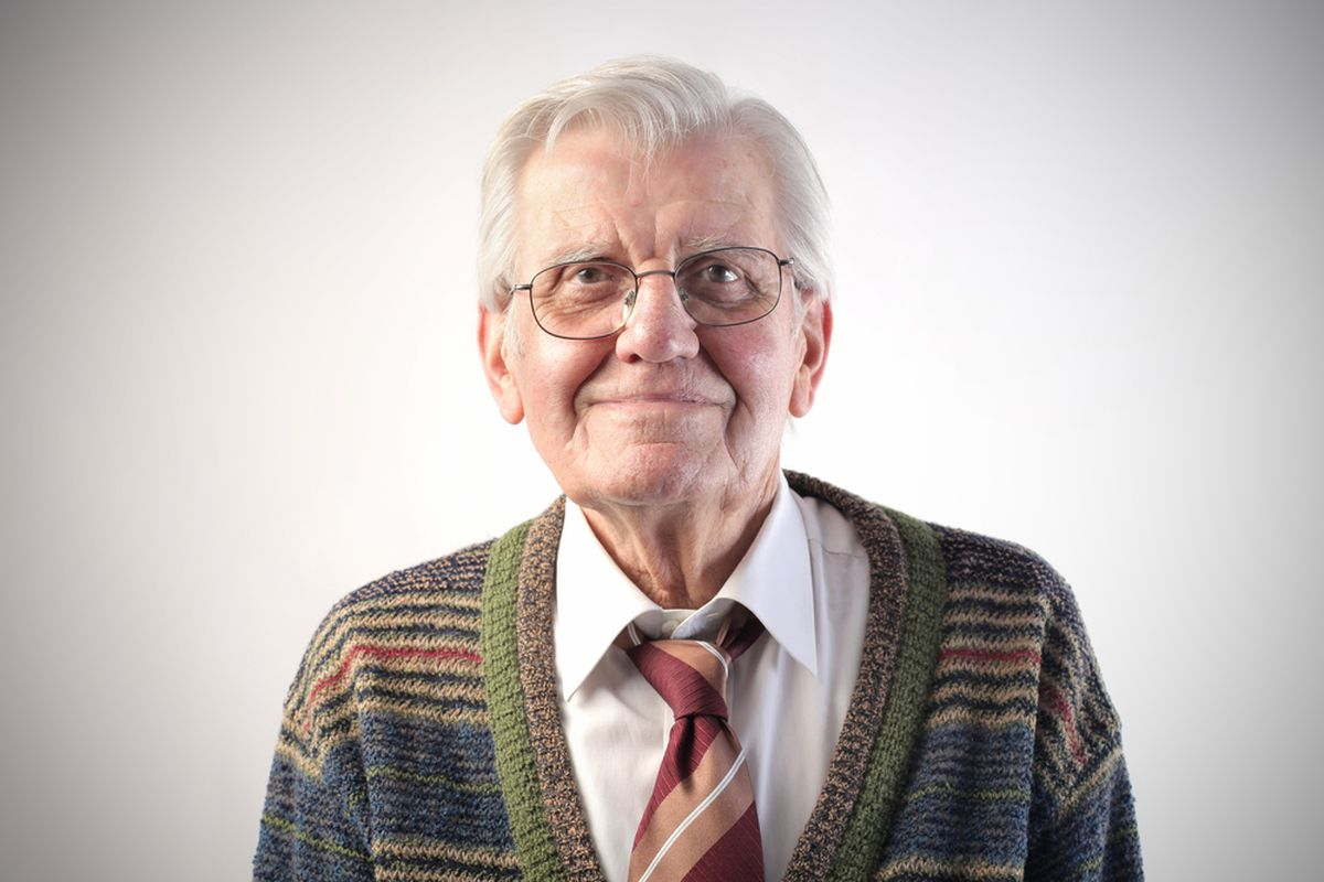 SHUTTERSTOCK Grandfather