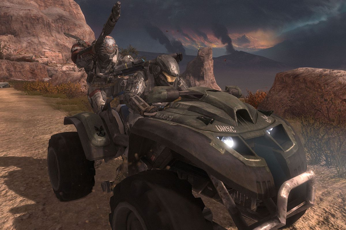 First Rule Of Halo Reach Don T Let The Ai Drive Polygon