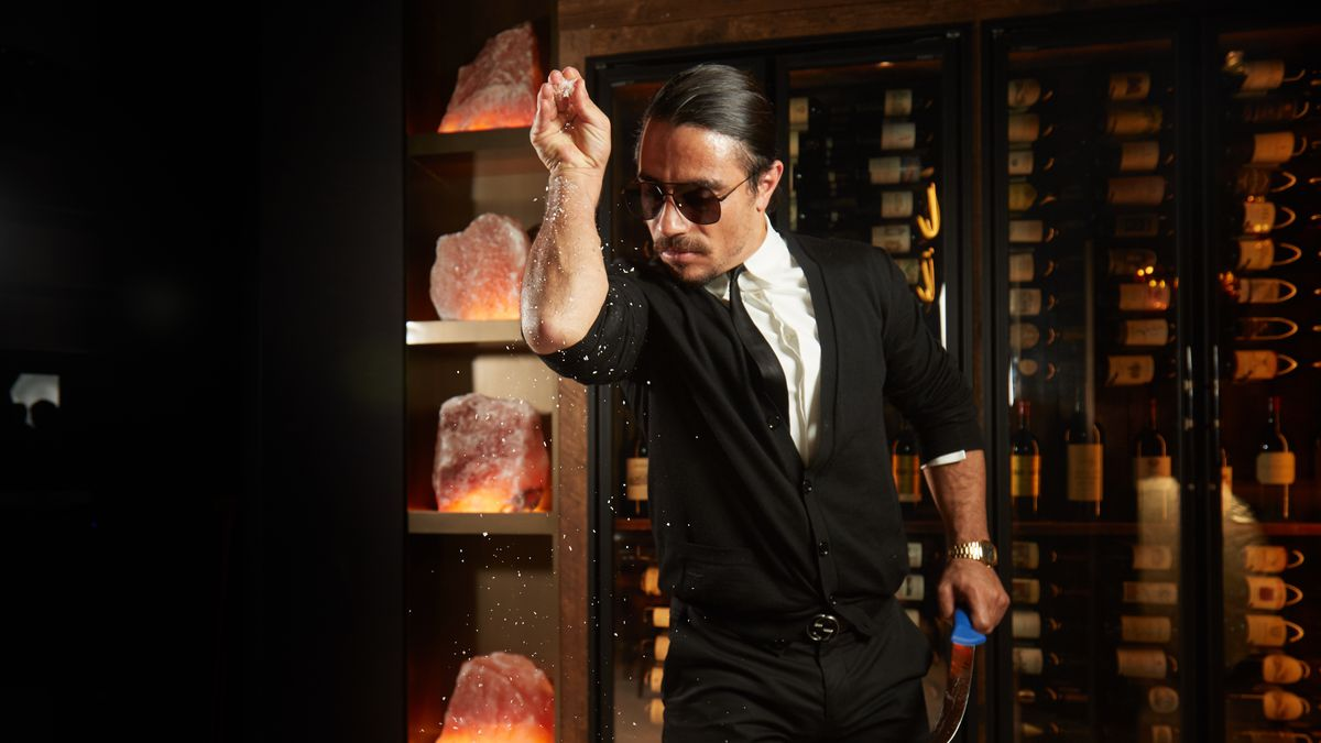 Behold The Salt Bae Nyc Restaurant Opening This Week Eater Ny
