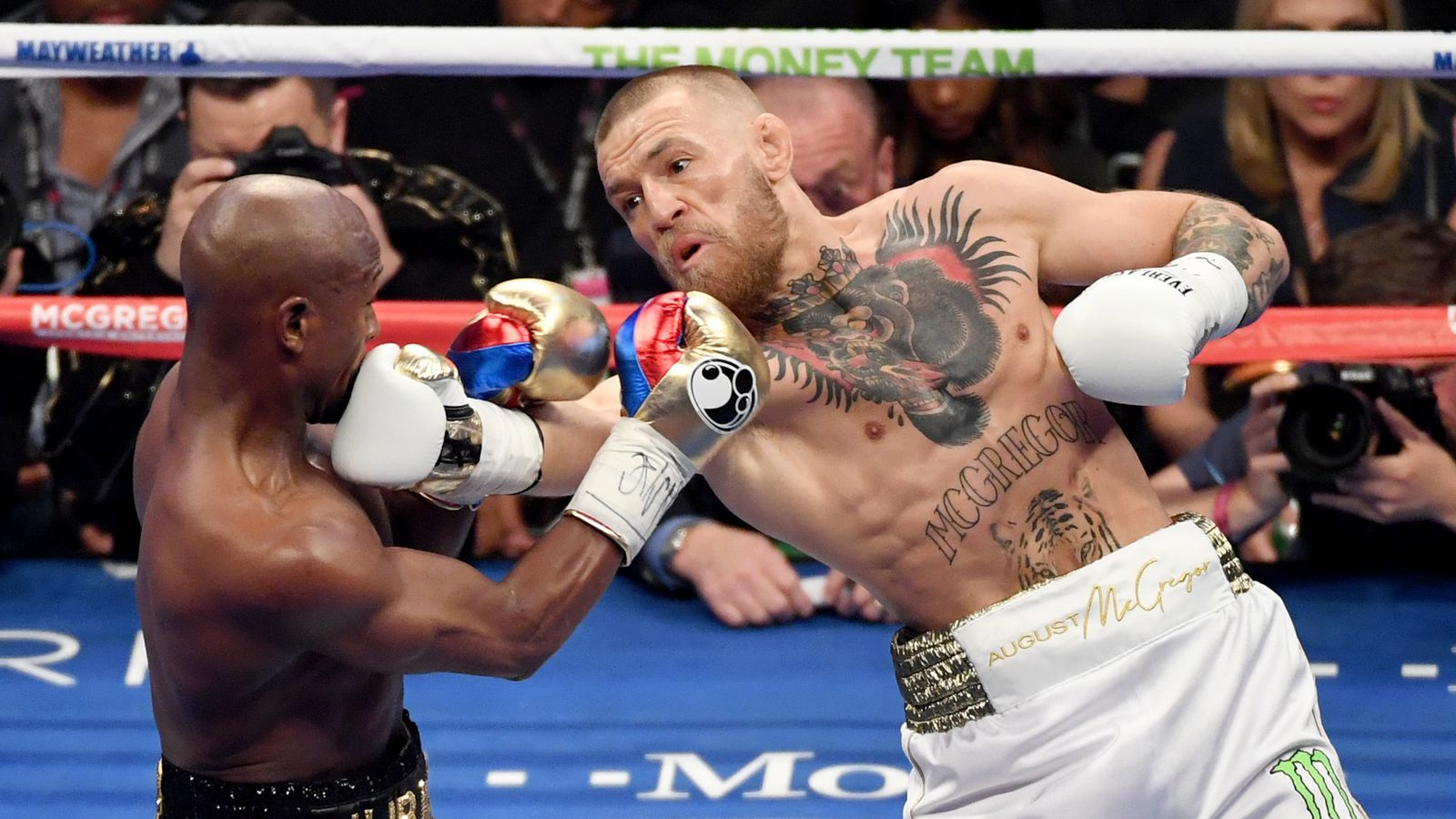 Places to watch McGregor Mayweather fight? : sanantonio