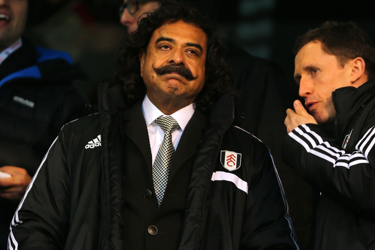 According to the Secret Footballer, Shahid Khan is the root of Fulham's problems
