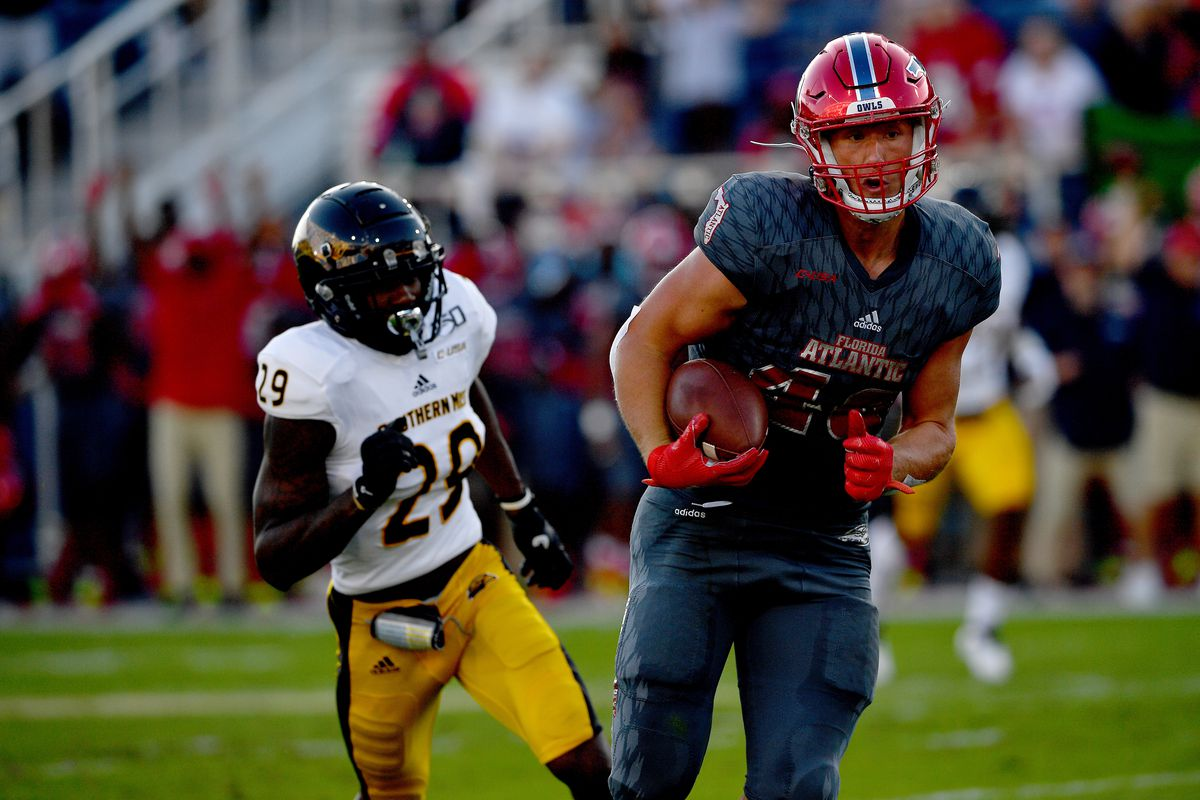 2020 Nfl Draft Profile Florida Atlantic Te Harrison Bryant S Impact In His Rookie Year And Beyond Draftkings Nation