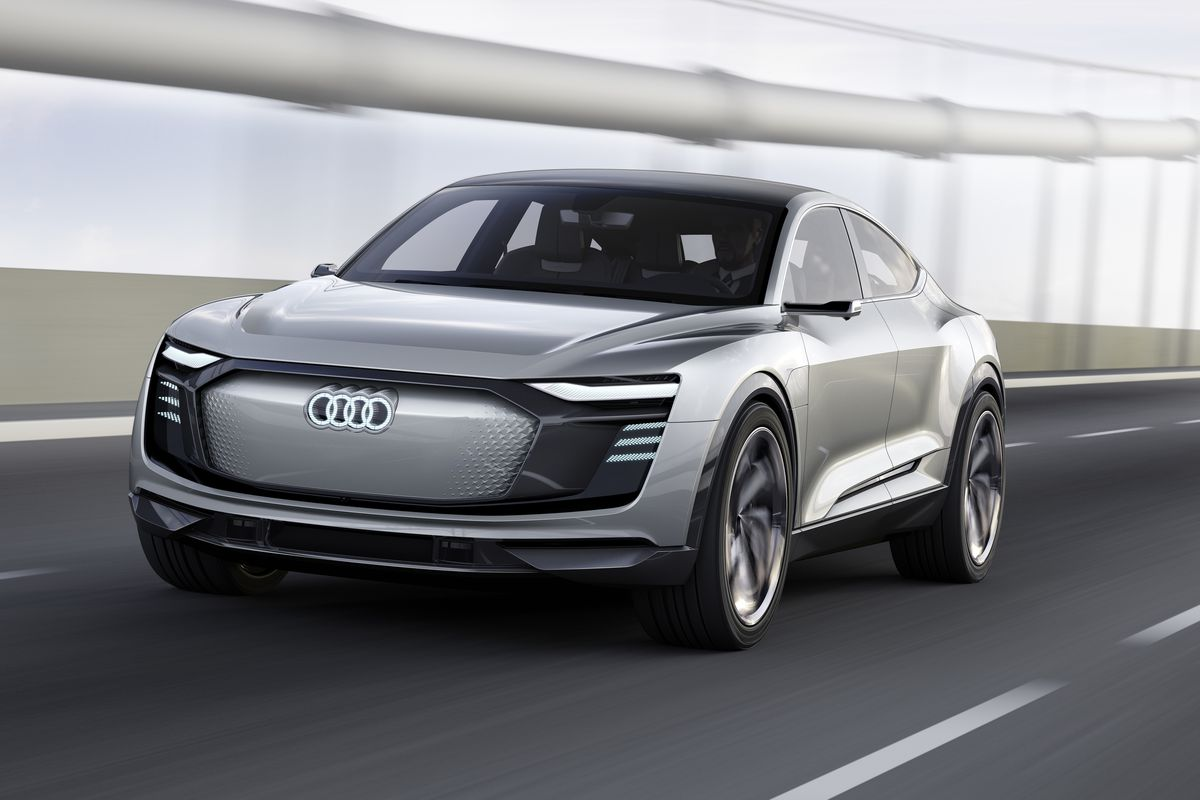 Audi S New All Electric Concept Vehicle The E Tron Sportback Made Its Debut At Shanghai Auto Show Today And In Addition To Being Super