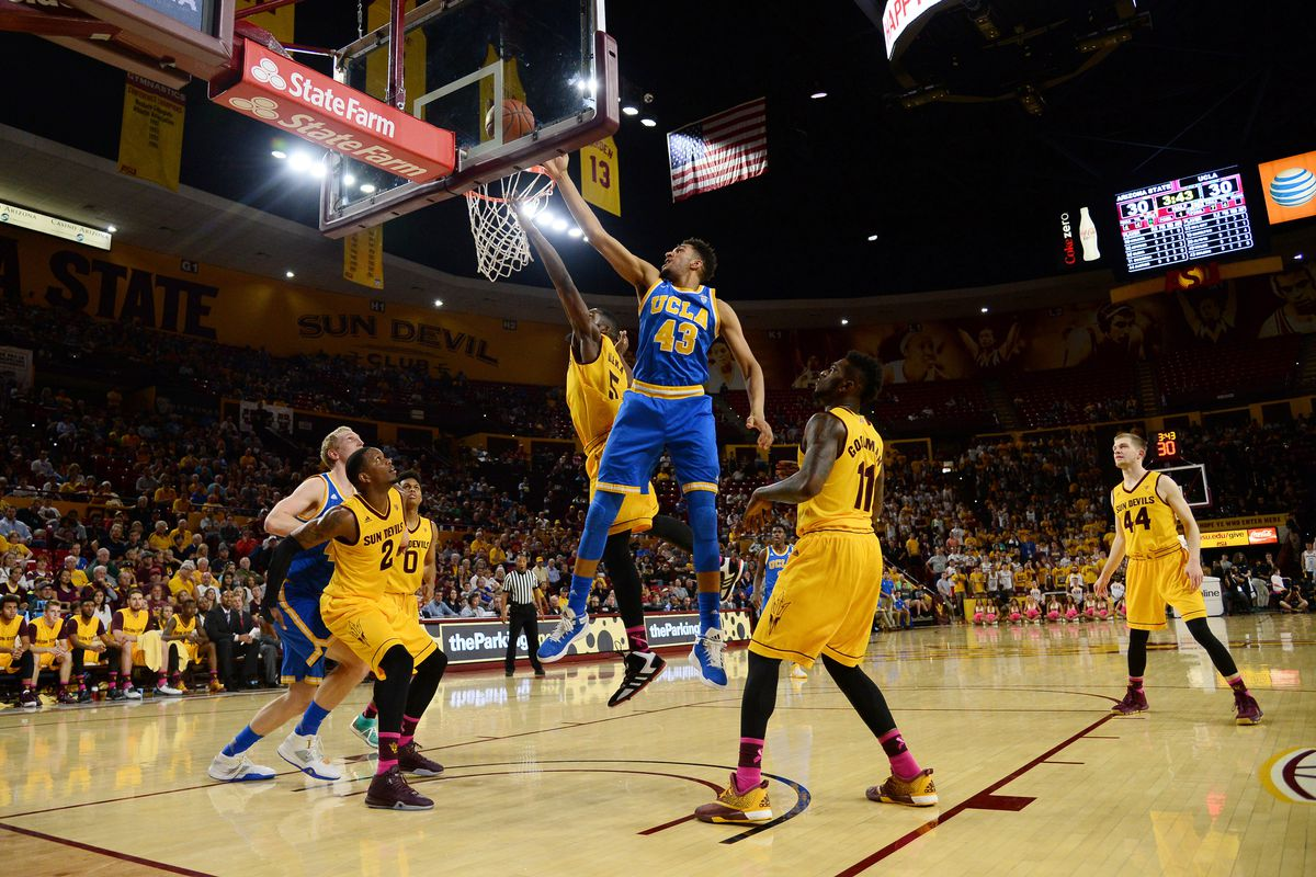Inside the paint Jonah Bolden is a beast and gives UCLA a true power forward