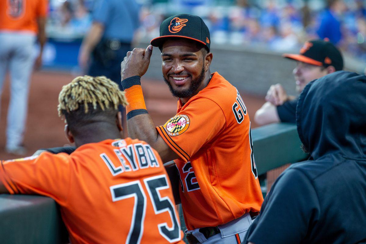 MLB: JUL 17 Orioles at Royals