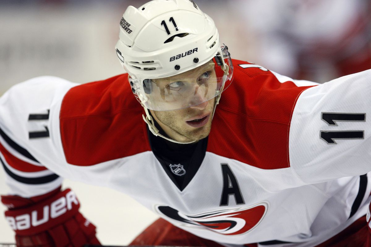 Jordan Staal will see his first 2014 preseason action tonight