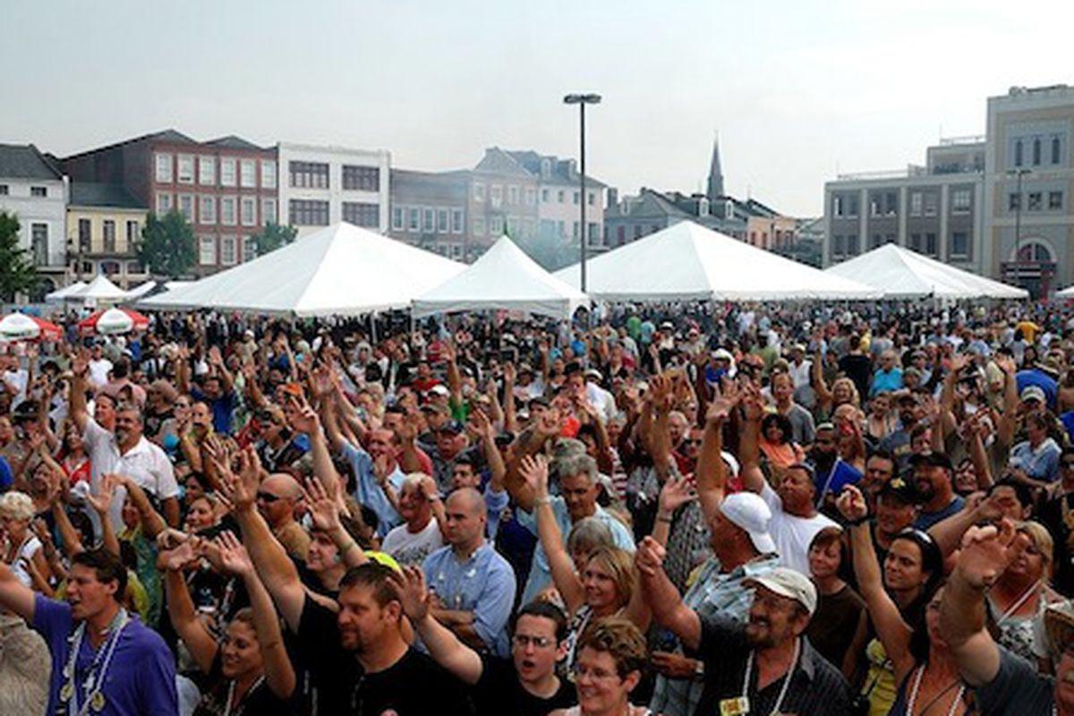 Oyster Fest 2011.