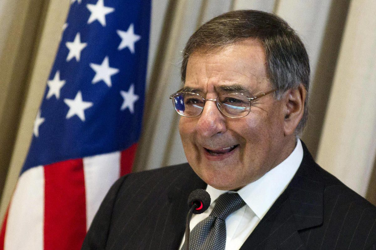 FILE - In this April 25, 2012, file photo, U.S. Defense Secretary Leon Panetta speaks at Brazil's Superior War College in Rio de Janeiro, Brazil. Traveling to Colombia, Brazil and Chile this week, Panetta underscored the importance of those nations as mil