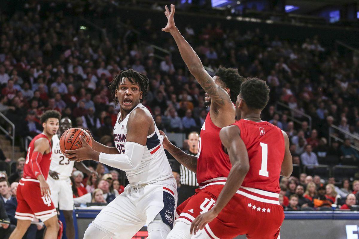 NCAA Basketball: Connecticut at Indiana