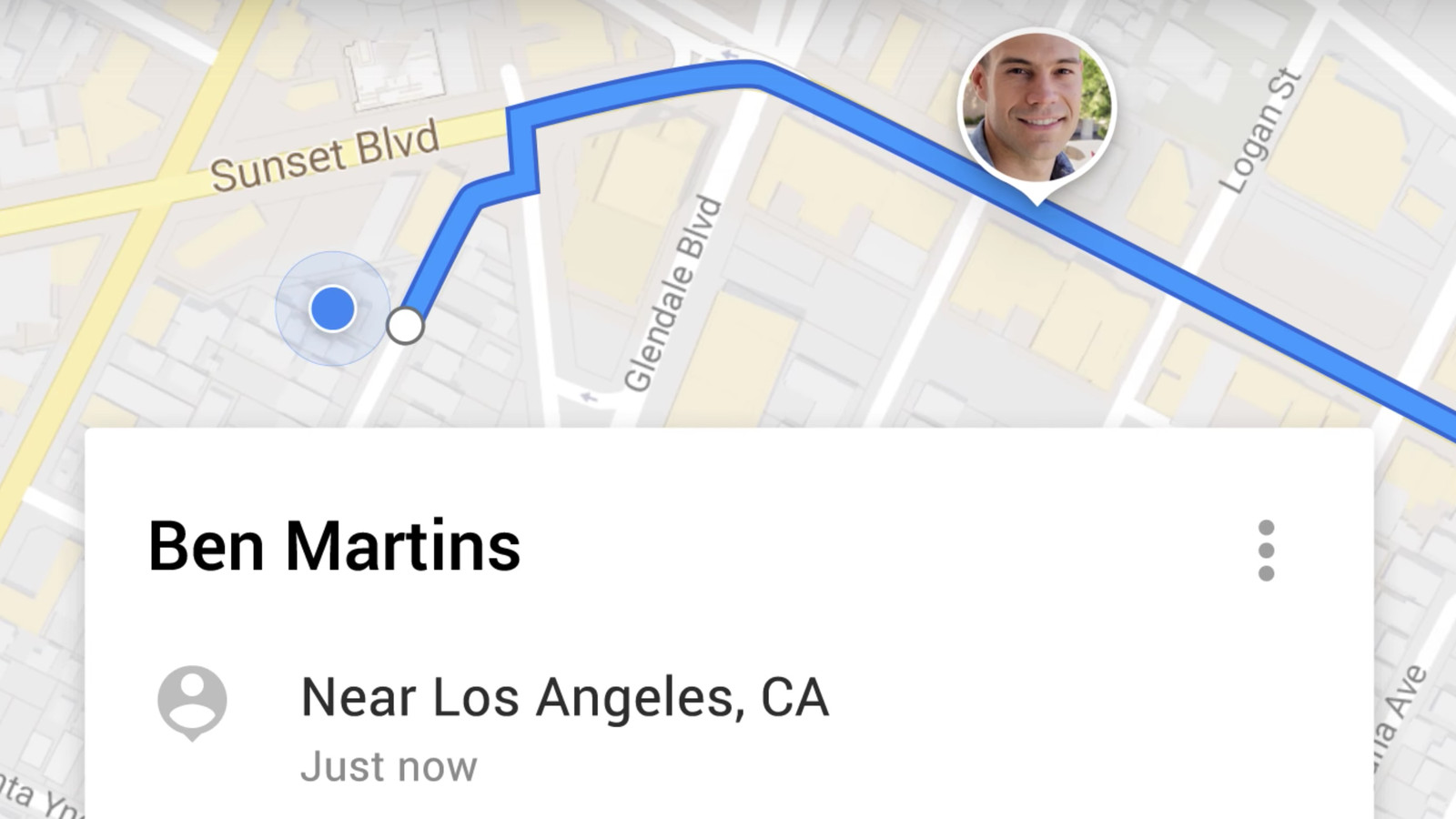 Google Maps can now temporarily share your real-time location with