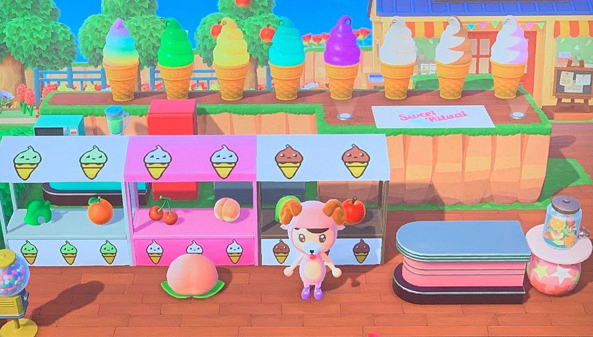 """Sweet Ritual's shop in """"Animal Crossing"""""""