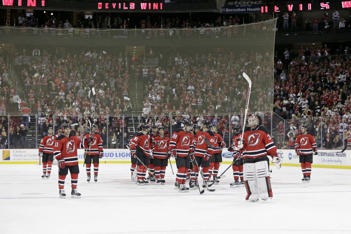 Fans left April 9 very happy with a win.  The Devils will return to the ice for regular season hockey on October 13 and return to the Rock on October 18.