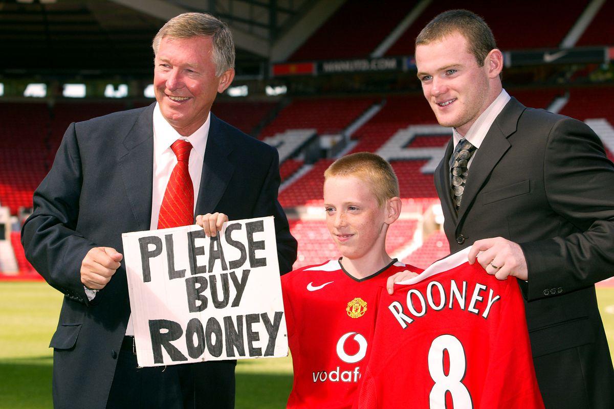 Soccer - FA Barclays Premiership - Manchester United - Wayne Rooney Signing