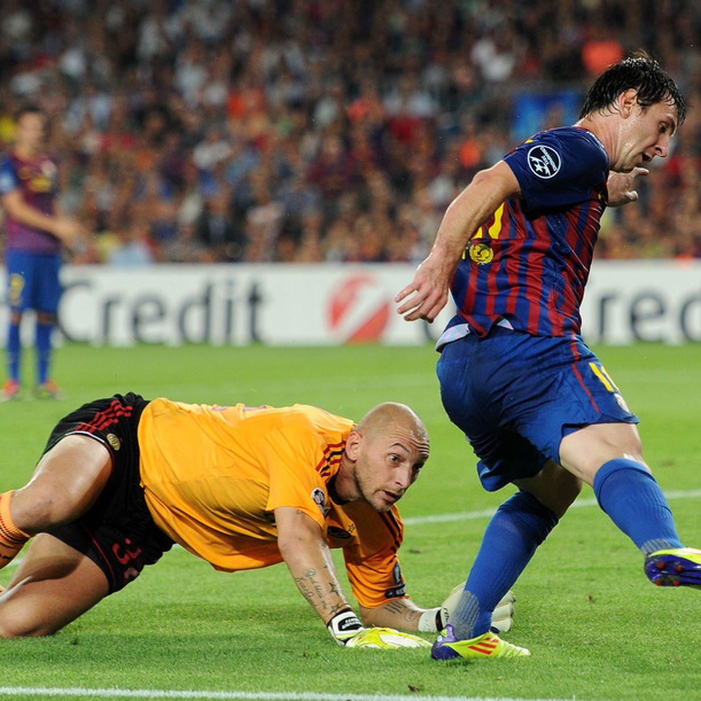 Uefa Champions League Fc Barcelona Vs Ac Milan Injuries Lineups And Matchups Barca Blaugranes