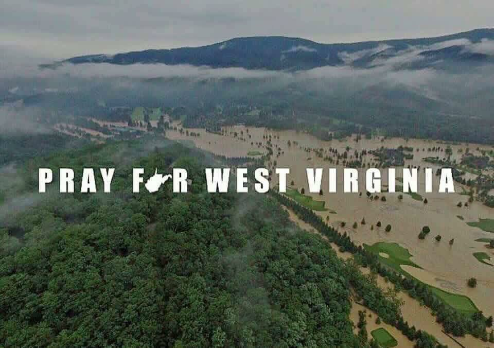 Pray For WV graphic