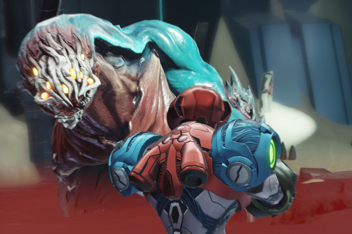 Corpius boss fight (Artaria) – Metroid Dread guide