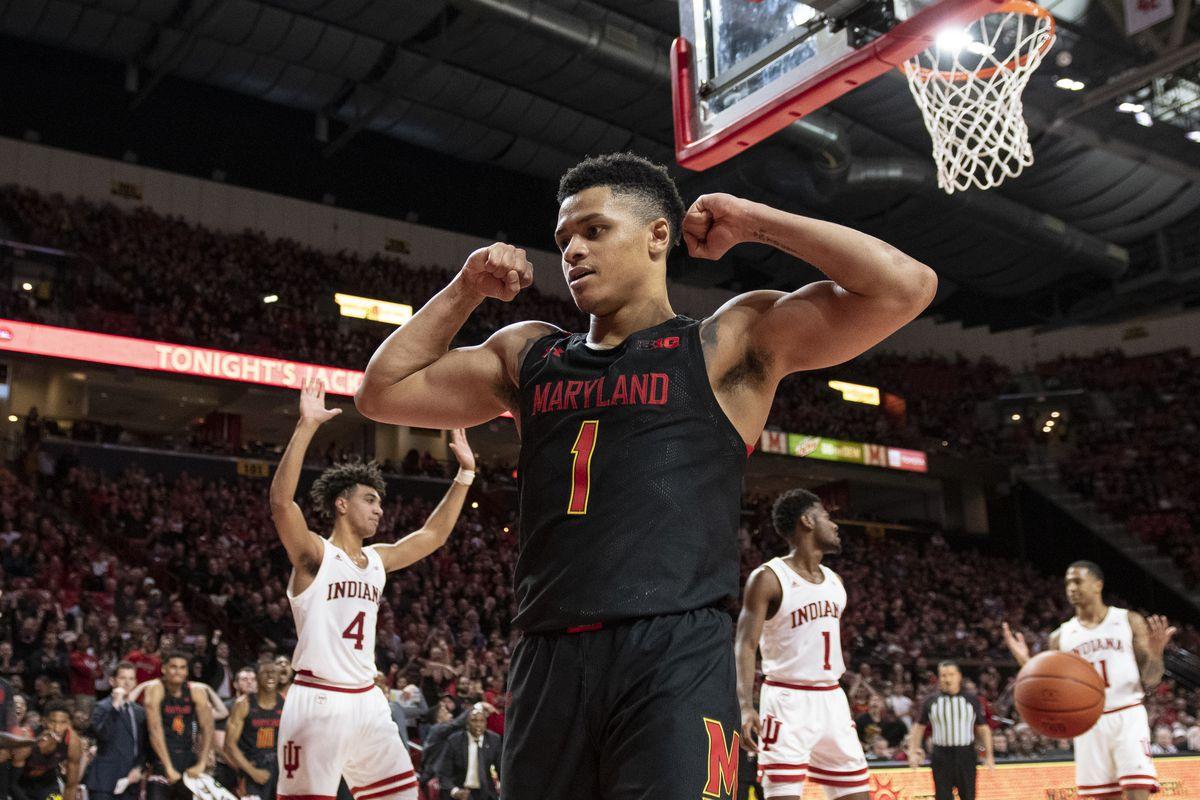 NCAA Basketball: Indiana at Maryland
