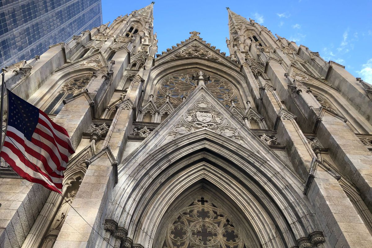 The Archdiocese of New York canceled all Masses, including those at St. Patrick's Cathedral, due to coronavirus concerns.
