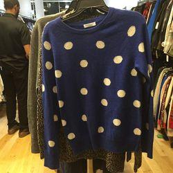 Equipment cashmere sweater, $75
