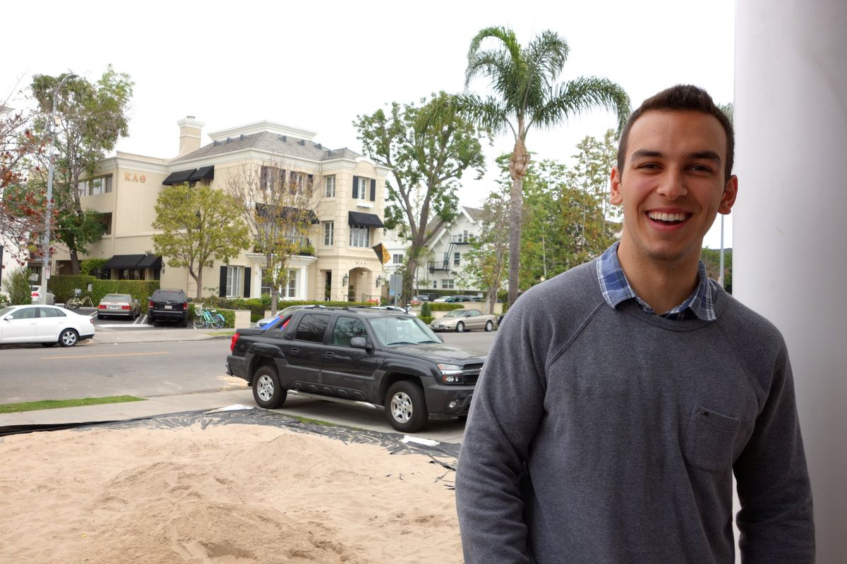Brendon Ghaderi, USC student and co-founder of Flock