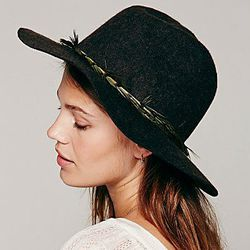 """<strong>Free People</strong> Embellished Band Brimmed Hat, <a href=""""http://www.freepeople.com/the-escape/embellished-band-brimmed-hat/"""">$58</a>"""