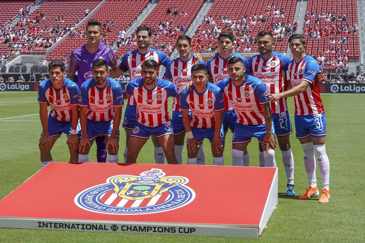 Soccer: International Champions Cup-Benfica at Guadalajara