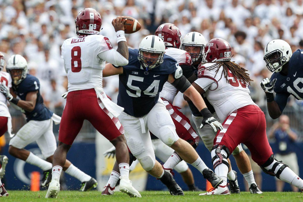 NCAA Football: Temple at Penn State